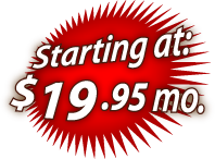 DSL Internet Access Starting at $19.95 month
